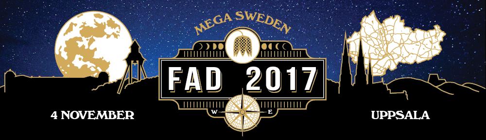 Föreningshjälpen, Mega Sweden FAD 2017 logga, geocaching event